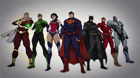 Movie After Justice League War | the world s finest justice league war