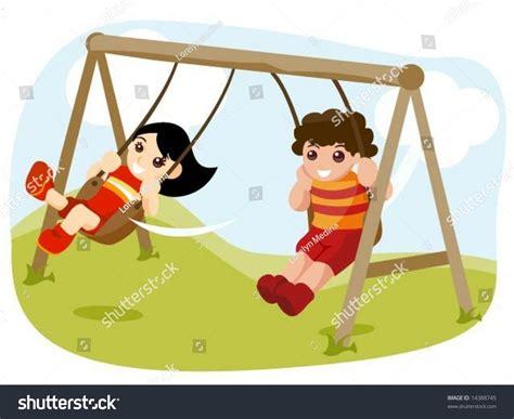 swing vector swing vector stock vector 14388745