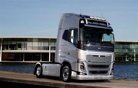 volvo trucks europe volvo trucks becomes official supplier to the mclaren