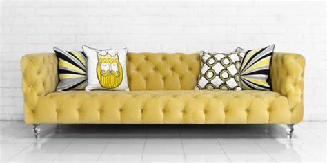 yellow velvet sofa www roomservicestore com boca sofa in volt yellow velvet