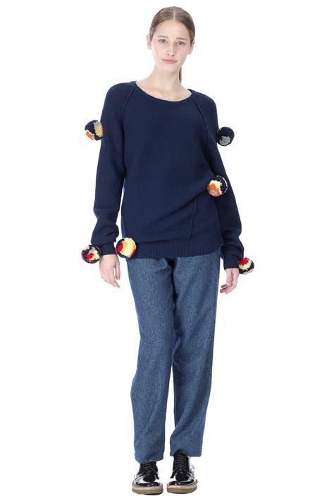 oversized pomeranian let ts talk about this chauncey oversized pom pom links sweater my fashion wants