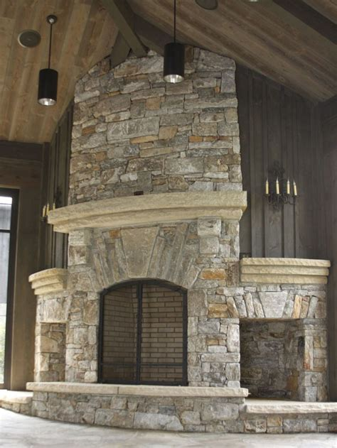 stone and wood fireplace 48 best images about fireplace on woods