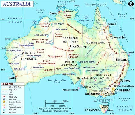 map of western australia with cities and towns large detailed map of western australia with cities and
