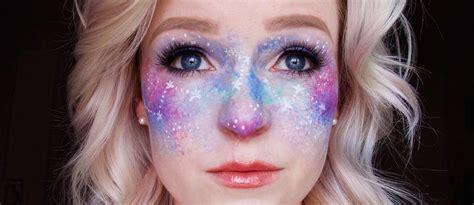 galaxy makeup  creative makeup ideas
