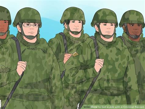 Can You Join The Army With A Criminal Record Expert Advice On How To Get A With A Criminal Record Wikihow