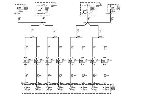 05 silverado injector wiring diagram wiring diagrams