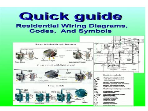 guide residential wiring diagrams codes and symbols