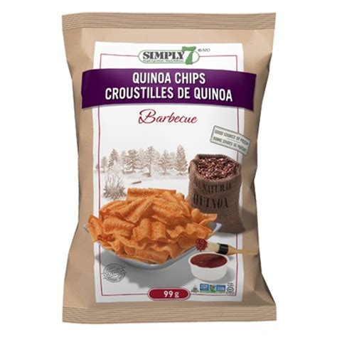 Simply7 Quinoa Bbq Buy Simply7 Barbecue Quinoa Chips 99 G In Canada Free Ship 29