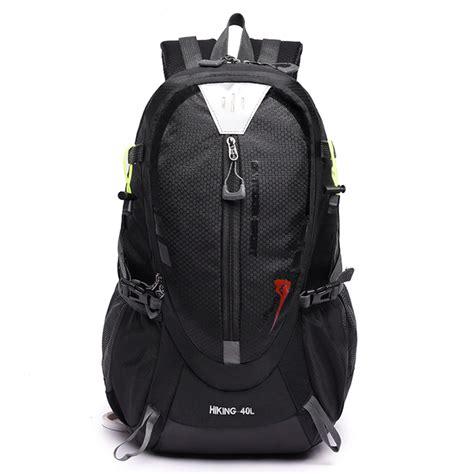 Tas Ransel Barrel Mountaineering tas ransel gunung hiking waterproof 40l black jakartanotebook