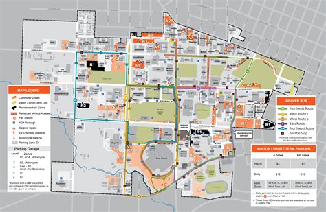map of oregon colleges maps finance and administration oregon state
