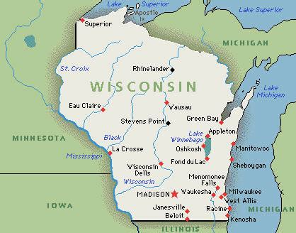 Celebrating the States: Wisconsin   May 29, 1848