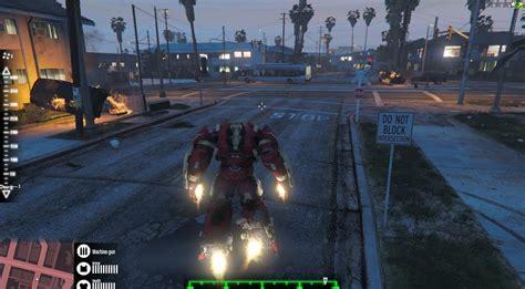 mod gta 5 hulkbuster gta x scripting gta v ironman mini hulkbuster armor