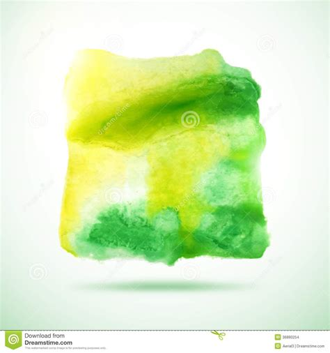 watercolor vector background abstract grunge blob stock