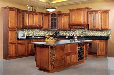 modern modular oak solid wood kitchen cabinet id 6504458