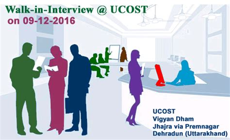 Walk In In Bangalore For Mba Freshers by Walk In At Ucost On 09 December 2016 11 00 Am