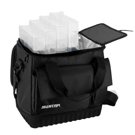 backpack with cooler section silstar soft tackle bag with 5 tackle boxes insulated