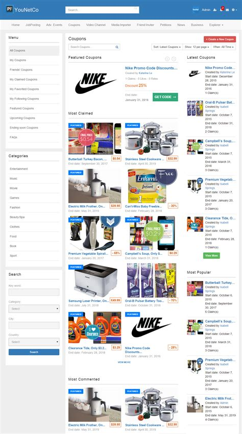 bootstrap themes discount code v4 discount coupon younetco phpfox apps themes