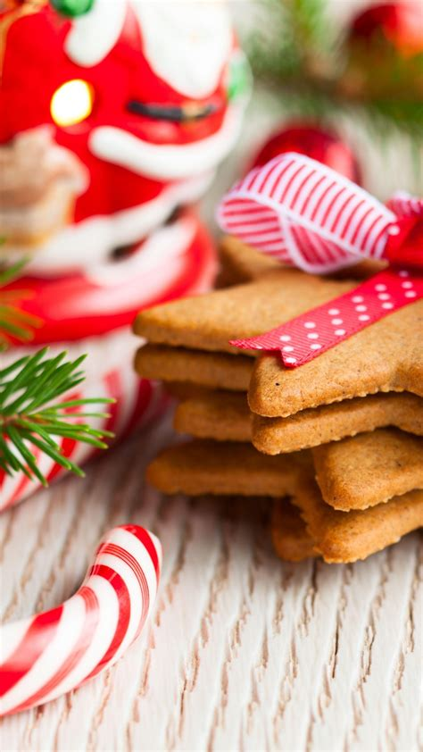 wallpaper christmas cookies  year decirations branch food