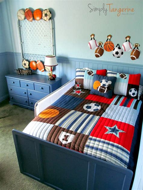 25 best ideas about sports theme rooms on