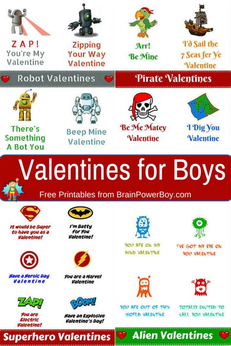 what to get boys for valentines 25 sweet valentines day printables cook craft