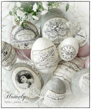 Papier Peint Deco 2534 by Decoupage Easter Eggs Shabby Chic Easter Is Just Around