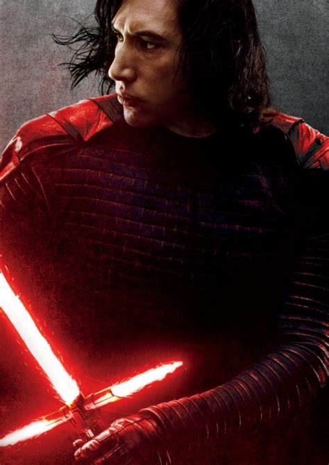 Kaos Wars Kylo Ren adam driver as kylo ren in the promotional poster for