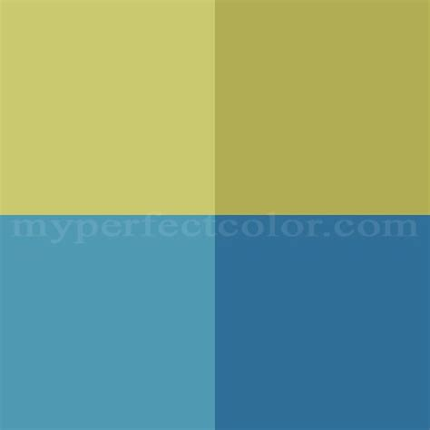 benjamin pottery barn colors summer 2008 blues greens scheme created by