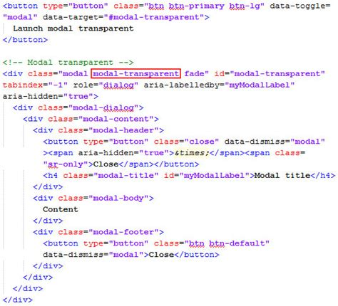 membuat background html dengan css cara membuat background modal bootstrap transparan