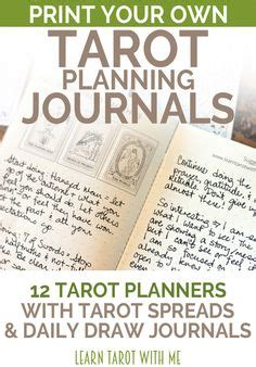 printable tarot journal 1000 images about learn tarot with me on pinterest
