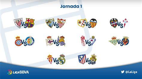 El Calendario Dela Liga Española Calendario De La Liga Espa 241 Ola Bbva 2015 2016