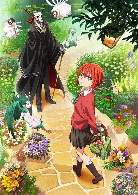 anime fall 2017 new anime the ancient magus bride tv anime announced for