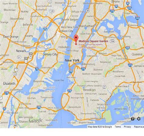 Garden City Ny Location Square Garden On Map Of New York City World Easy