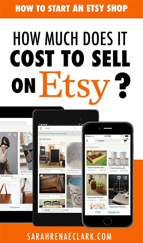 how much does it cost to sell a house how to start an etsy shop a beginner s guide to selling on etsy