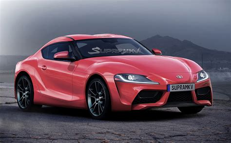toyota supra rendered