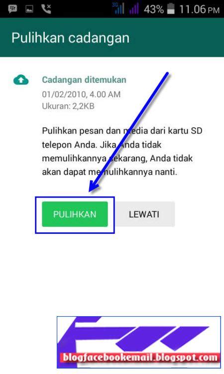 daftar  membuat akun whatsapp  hp android