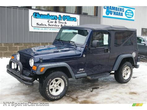 midnight blue jeep 2006 jeep wrangler unlimited 4x4 in midnight blue pearl