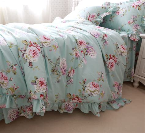 girls queen bedding floral bedding sets antique cotton floral quilt bedding