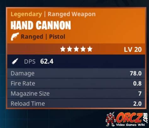 fortnite cannon fortnite battle royale legendary cannon orcz