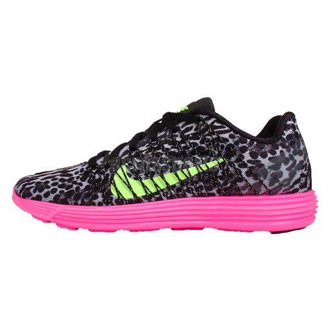 wmns nike lunaracer 3 leopard grey black pink womens
