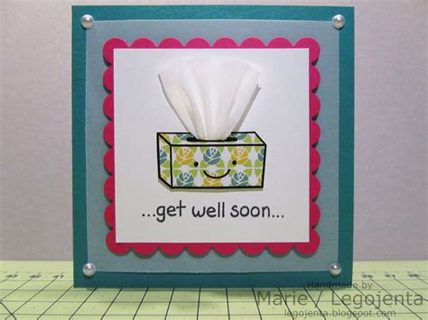 diy get well cards get well soon tissue card playful paper creations creative get well and get