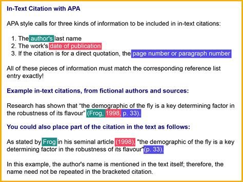 apa format citation in text apa 6th edition mechanical engineering libguides at