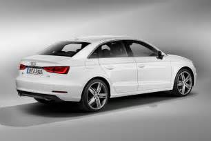 new 2014 audi a3 sedan details and pictures