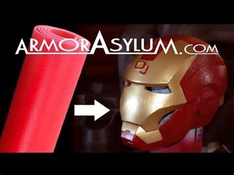 armorasylum iron man foam helmet raw real time