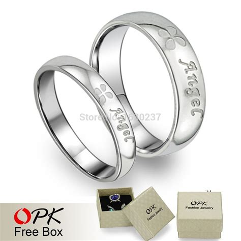 opk engagement lover couples his and hers promise ring