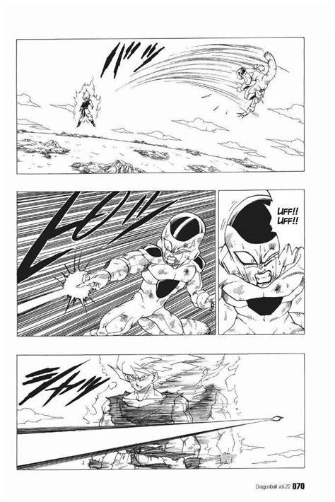 preguntas random fuertes dragon ball manga goku ssj vs freezer dragon ball