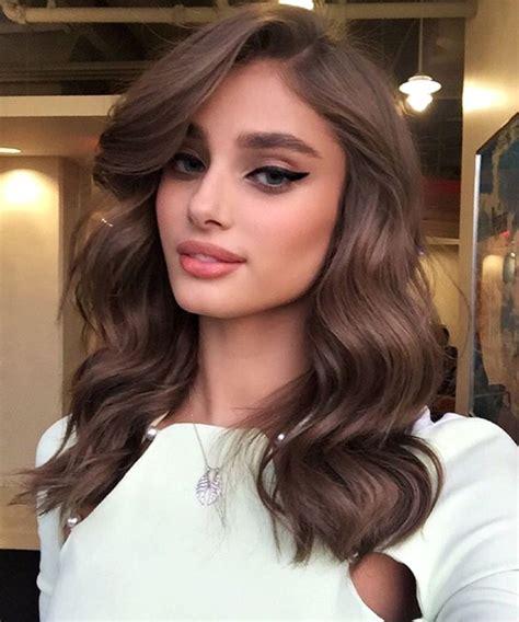 tintes de cabello cafe colores de cabello ideales para tener un rostro m 225 s delgado