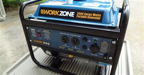 home 2000 watt gasoline power generator review and test