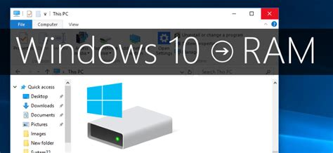 system ram test windows 10 how to check ram and system specs techddictive