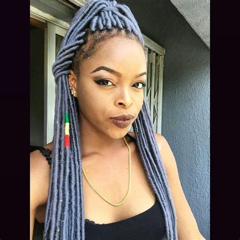 how is yarn used for hair styles locks braids hairstyles for black women yarn locs grey yarn locs faux locs protective style