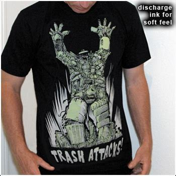 Uneetee On A T Shirt by Trash Attacks T Shirt Uneetee T Shirt Review